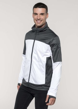 Softshell bicolore personnalisable