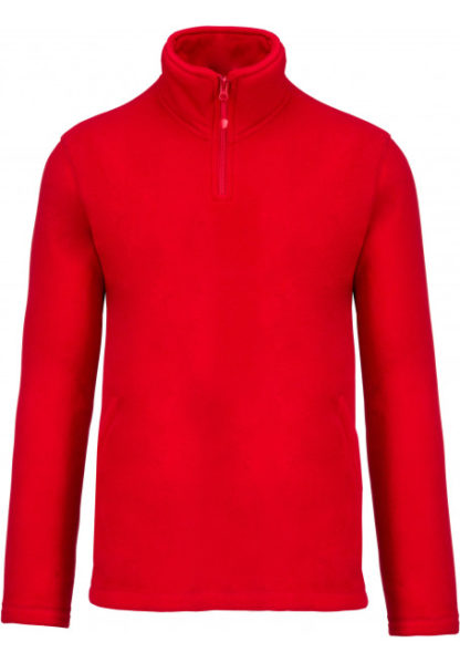 Sweat polaire rouge