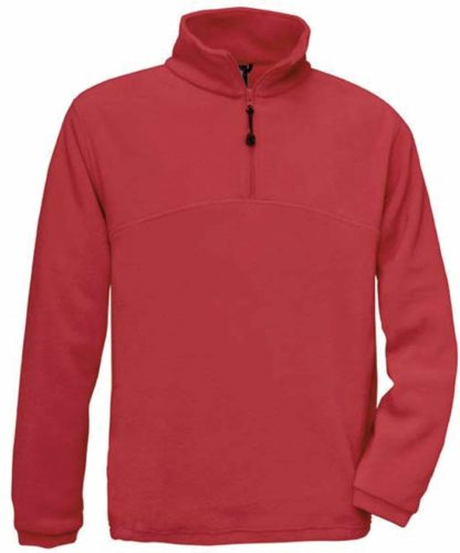 Sweat polaire customisable rouge